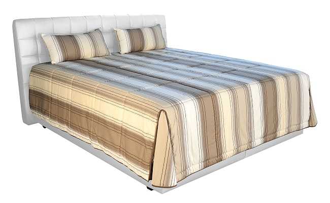 Blanář Postel Monaco 180x200 bílá s úložným prostorem (matrace Ivana plus, 130 kg)