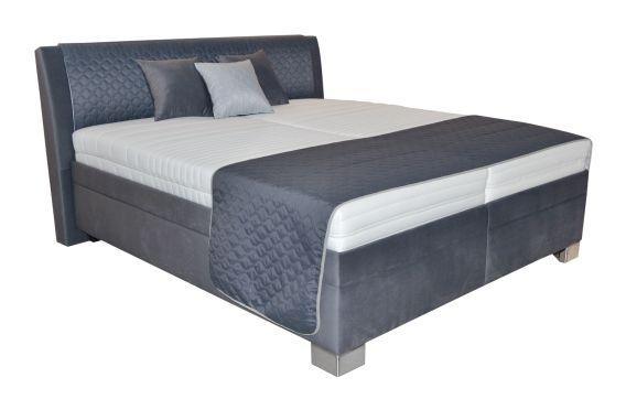 Blanář Postel Juve 180x200 s úložným prostorem, písty (bez matrací i s volitelnými matracemi)