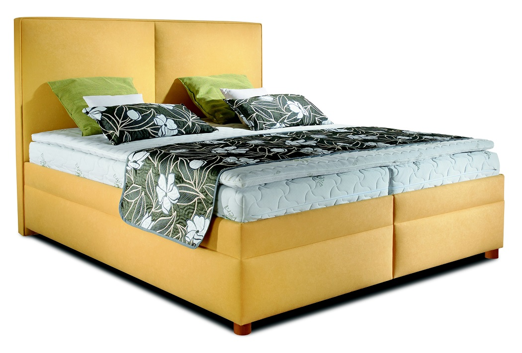 New Design Boxspring Marco 180x200 žlutý