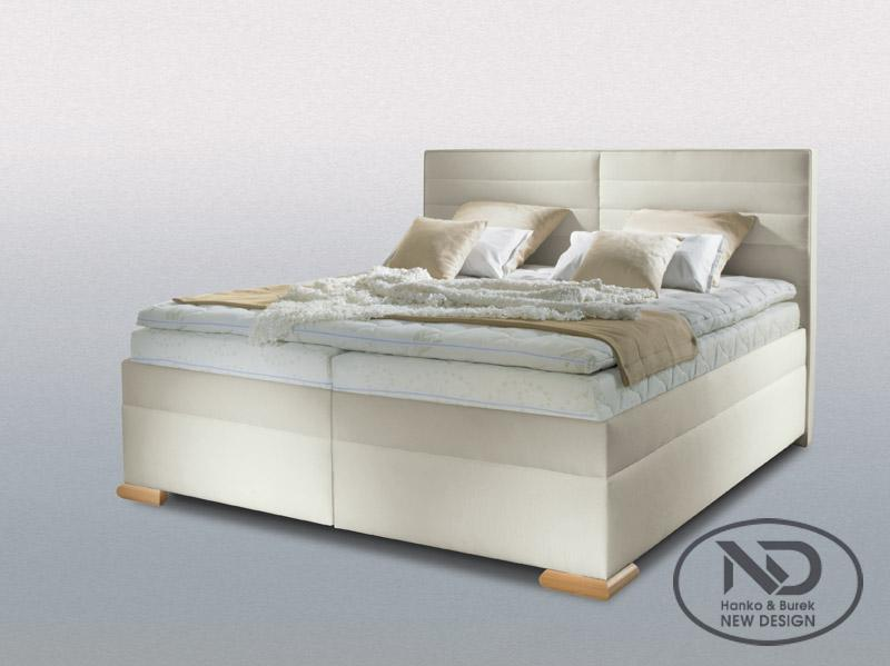 New Design Boxspring Lucia 180x200 béžová